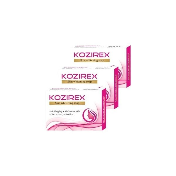 Biotrex Kozirex Skin Whitening Soap - Pack Of 3