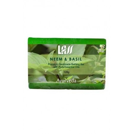 Lass Naturals Neem, Basil & Tea Tree Soap