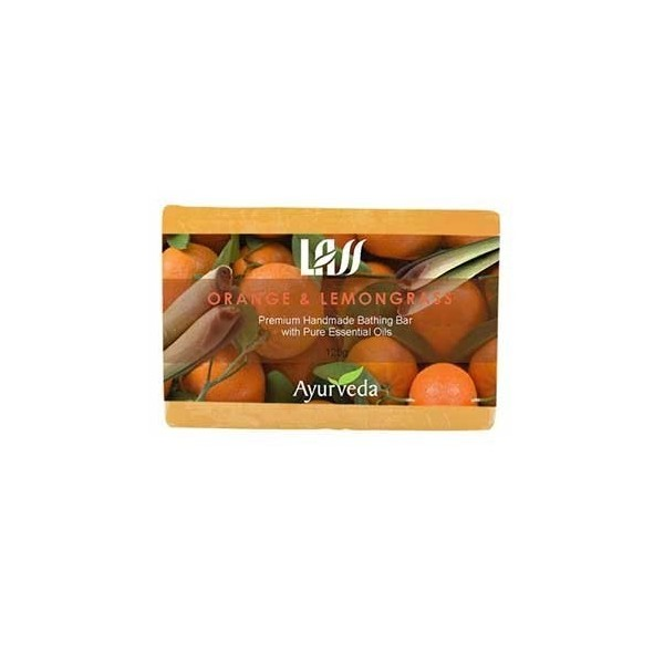 Lass Naturals Orange & Lemongrass Soap