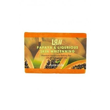 Lass Naturals Papaya & Liqurious Skin Whitenning Soap