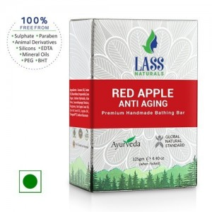 Lass Naturals Red Apple Anti Ageing Soap