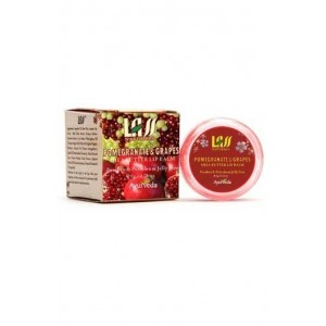 Lass Naturals Pomegranate & Grapes Lip Balm
