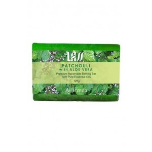 Lass Naturals Patchouli With Aloe Vera Soap