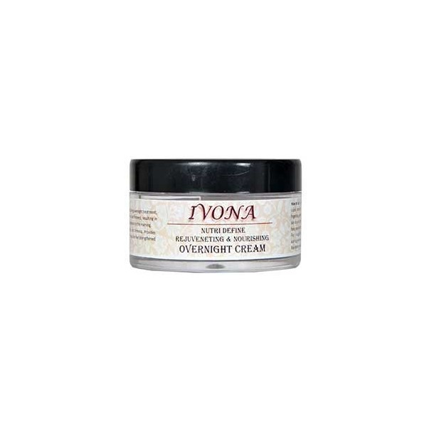 Aarogyam Wellness Ivona Nutri Define Rejuvenating &Nourishing Overnight Cream