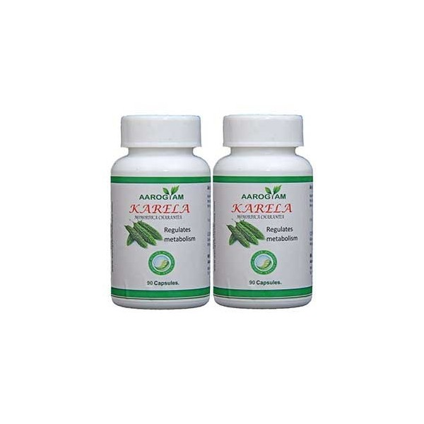 Aarogyam Wellness Karela Capsule Pack Of 2