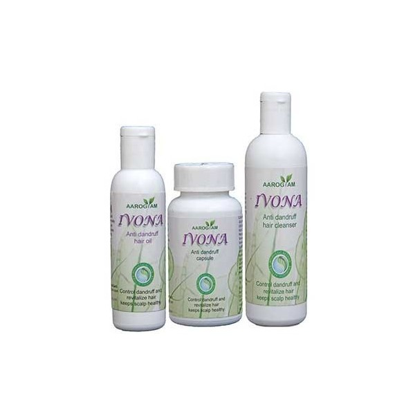 Aarogyam Wellness Ivona Anti Dandruff Hair Kit