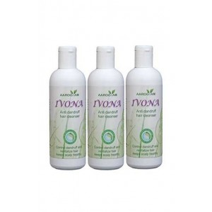 Aarogyam Wellness Ivona Anti Dandruff Hair Cleanser Pack Of 3