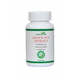 Aarogyam Wellness Green Tea Ext. Capsule