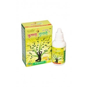 Zindagi Krishna Tulsi (Basil) Drops - 100% Natural Treatment For All Ailments