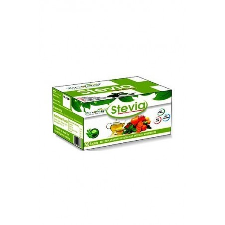 Zindagi- Stevia- 100 % Natural & Herbal Sweetener- 50 Sachets