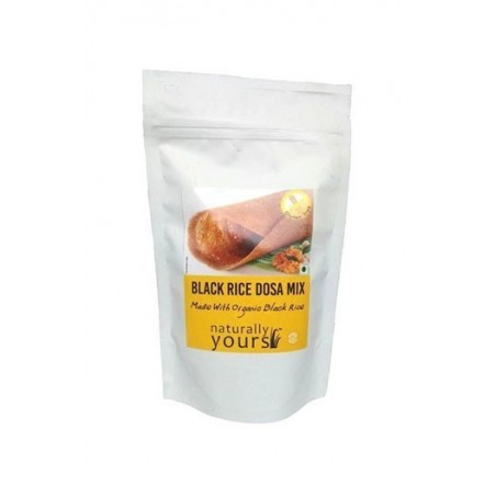 Naturally Yours Black Rice Dosa Mix 160G (Pack Of 3)