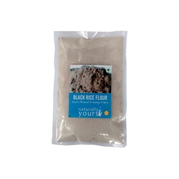 Naturally Yours Black Rice Flour 250G (Pack Of 2)