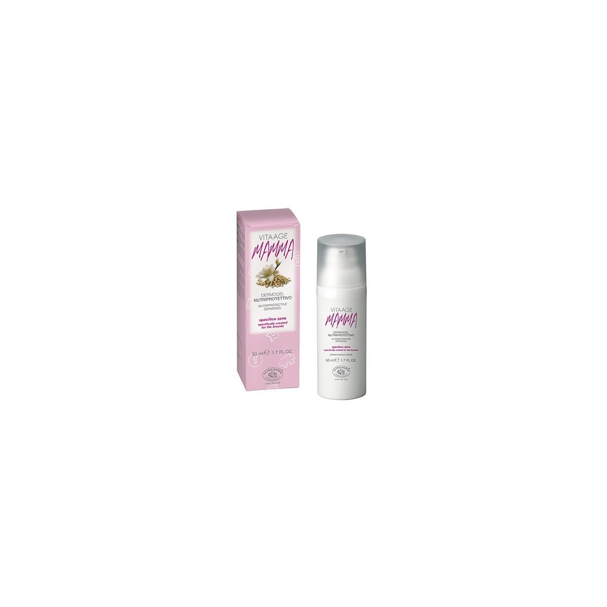 Bottega Di Lungavita Mamma Nutriprotective Dermogel For Breast Care During Pregnancy And Breastfeeding