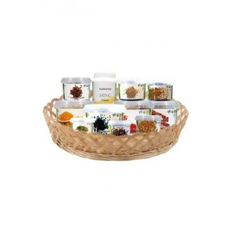 Earthon Organic Spices Grocery Basket