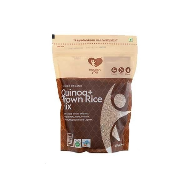 Nourish You Organic Quinoa With Brown Rice Mix