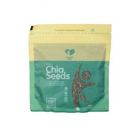 Nourish You Organic Authentic Black Chia Seeds