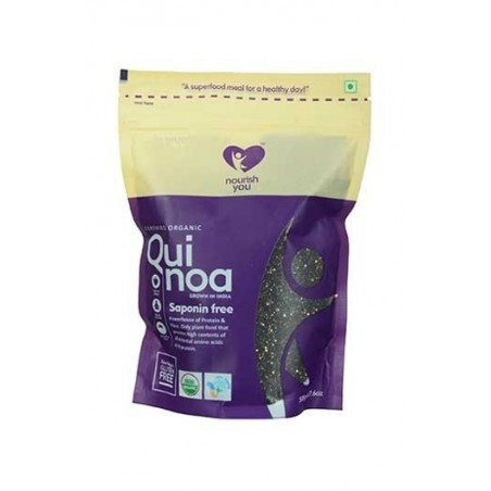 Nourish You Organic Black Quinoa