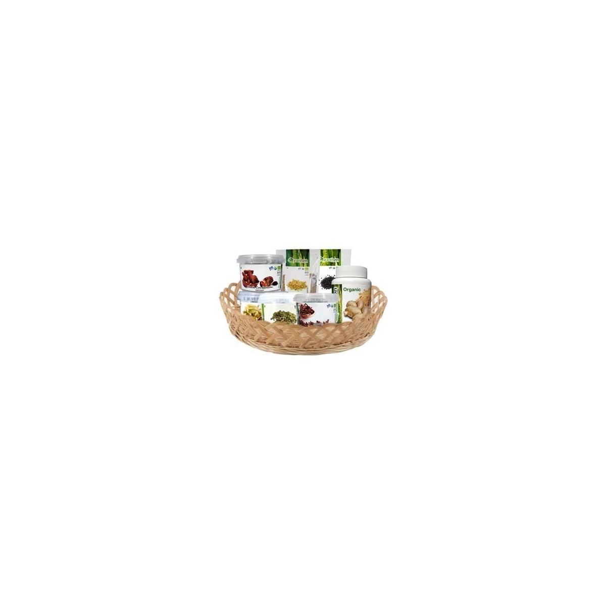 Earthon Organic Spices Basket