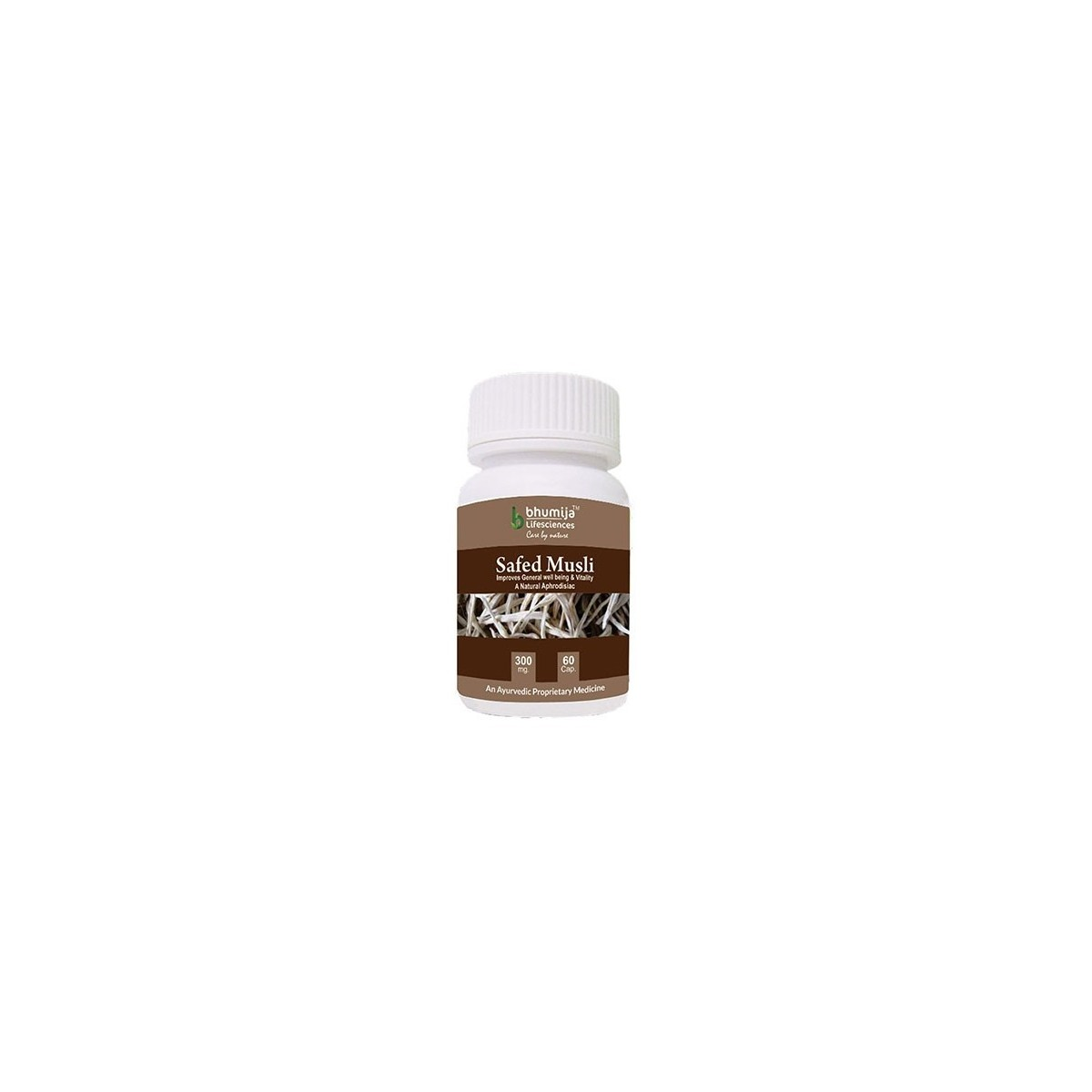 Bhumija Lifesciences Safed Musli Capsules 60