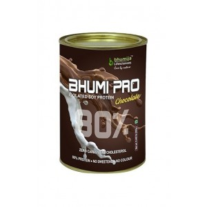 Bhumija Lifesciences-Soy Protein Isolated 80% (Bhumi Pro) Chocolate 200G