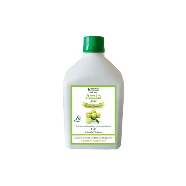 Bhumija Lifesciences Amla Juice (Sugar Free) 1 Ltr.