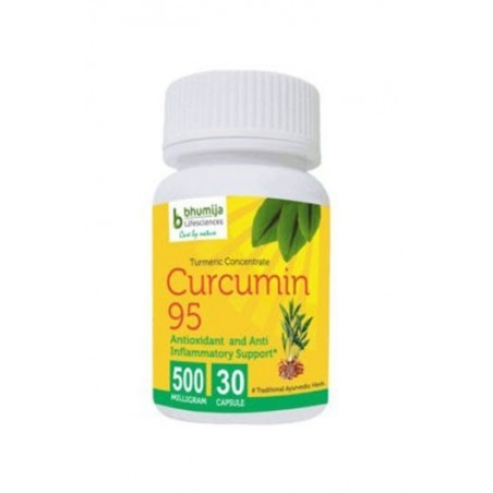 Bhumija Lifesciences Curcumin With Piper Nigram (Curcuma Longa) 30 Capsules