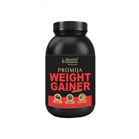 Bhumija Lifesciences Promija Weight Gainer, Chocolate 1 Kg