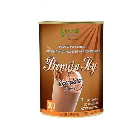Bhumija Lifesciences Soy Protein Isolated 90% (Bhumi Pro) 200G. Chocolate