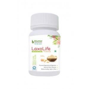 Bhumija Lifesciences Laxolife Powder (Psyllium Seed Husk) 100Gm.