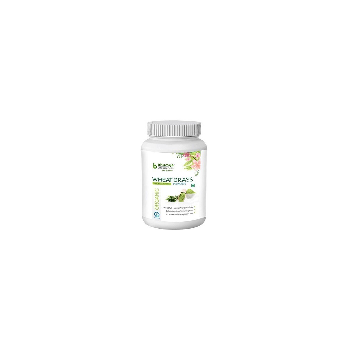 Bhumija Lifesciences Organic Wheatgrass Powder, 100G