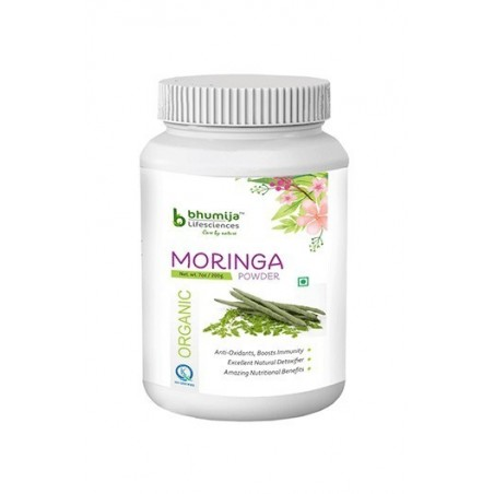 Bhumija Lifesciences Organic Moringa Powder 200 Gram