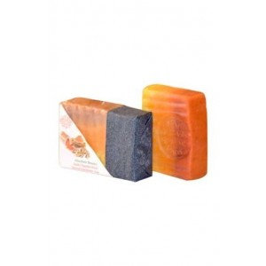 Pratha Naturals Absolute Beauty Handmade Soap Haldi Chandan Kesar