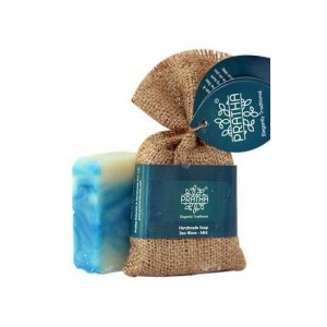 Pratha Naturalssea Waves With Mint Handmade Soap