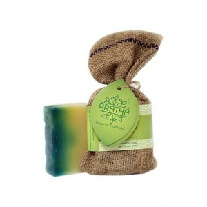 Pratha Naturals Sea Waves With Lime Handmade Soap
