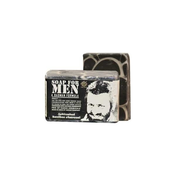 Pratha Naturals Activated Bamboo Charcoal Soap