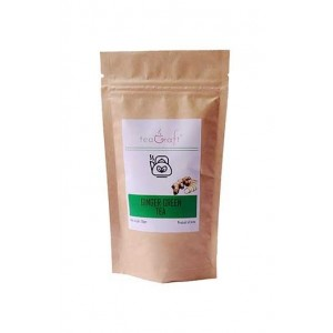 Teagraft Ginger Green Tea , Loose Whole Leaf Tea 50 Gm