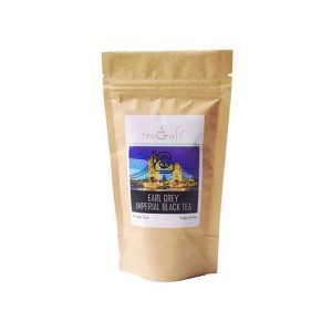 Teagraft Earl Grey Imperial Black Tea, Loose Whole Leaf Tea 50 Gm