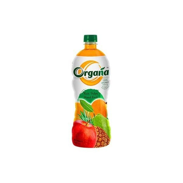 Organa Rich Pulpy Organic Mixed Fruit Juice 250Ml (Pack Of Two)