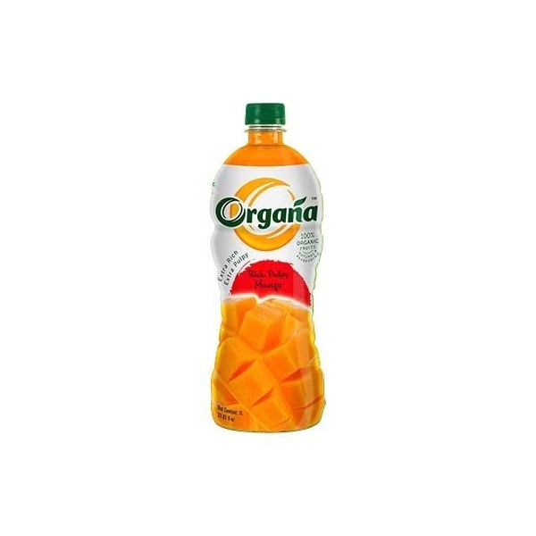 Organa Rich Pulpy Mango Juice 1000Ml