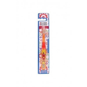 Buddsbuddy Kids Toothbrush, Orange