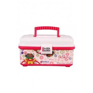 Buddsbuddy First Aid Emergency Kit, (White And Pink)