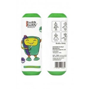 Buddsbuddy Brushing Kit 15Pcs Pack,Rampsy Green