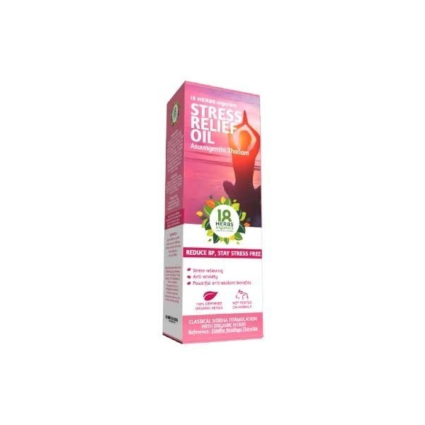 18 Herbs Asubagenthi Thailam Stress Relief Oil