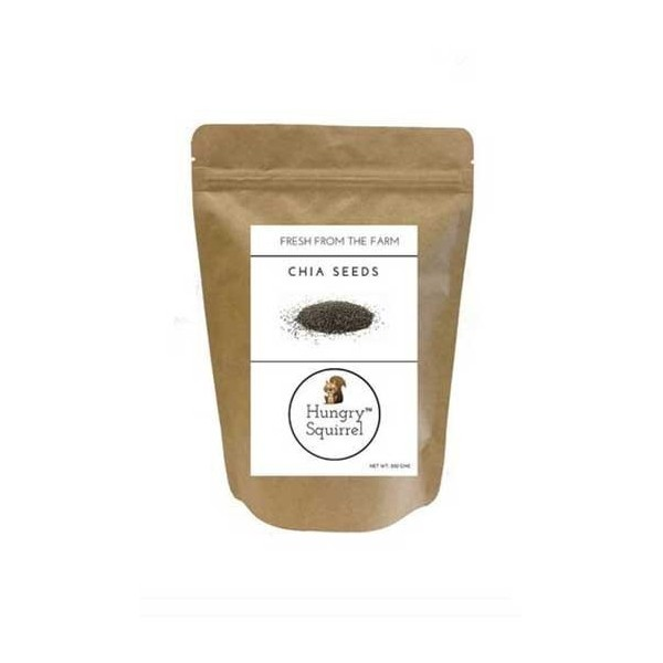 Hungry Squirrel -Chia Seeds -High In Omega 3, Fibre & Antioxidants 250Gm