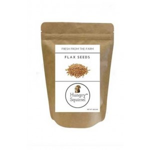 Hungry Squirrel- Flax Seeds- Full Of Omega 3, Vitamins, Minerals & Fibre 250Gm