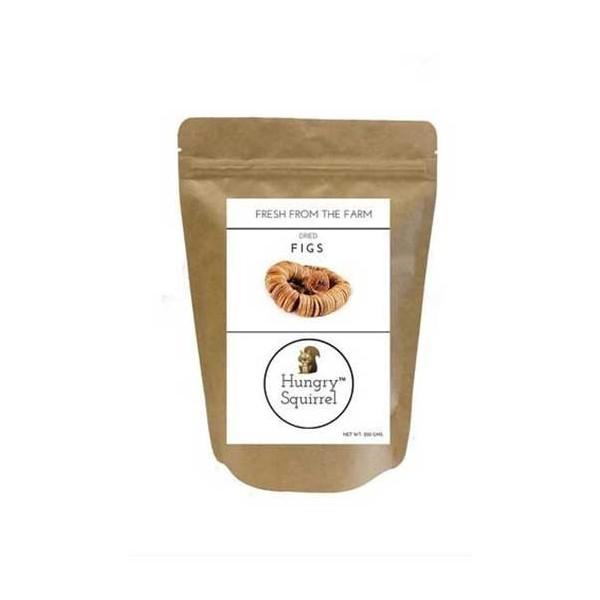 Hungry Squirrel- Dried Figs- Rich In Antioxidants 250Gm