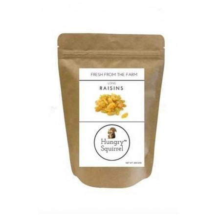 Hungry Squirrel- Long Raisins- Healthy Snack Pack 250Gm