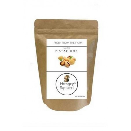Hungry Squirrel -Salted Pistachios- Healthy Snack Pack 250Gm
