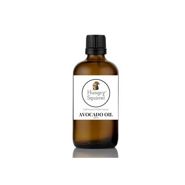 Hungry Squirrel- 100% Natural Avocado Oil- For Seasoning & Healthy Cooking 100Ml