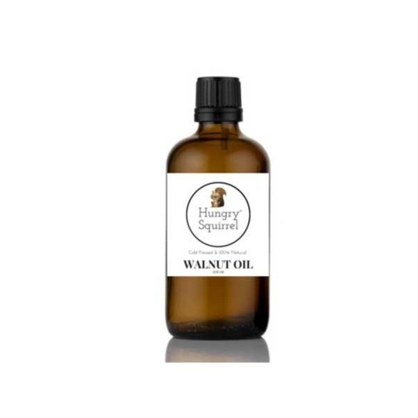 Hungry Squirrel -Walnut Oil- Cold Pressed & 100% Natural) 100Ml